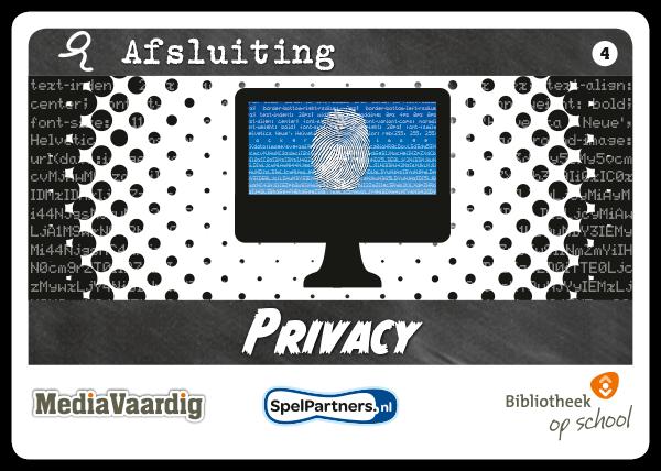 mediavaardig docentenspel privacy mediawijsheid